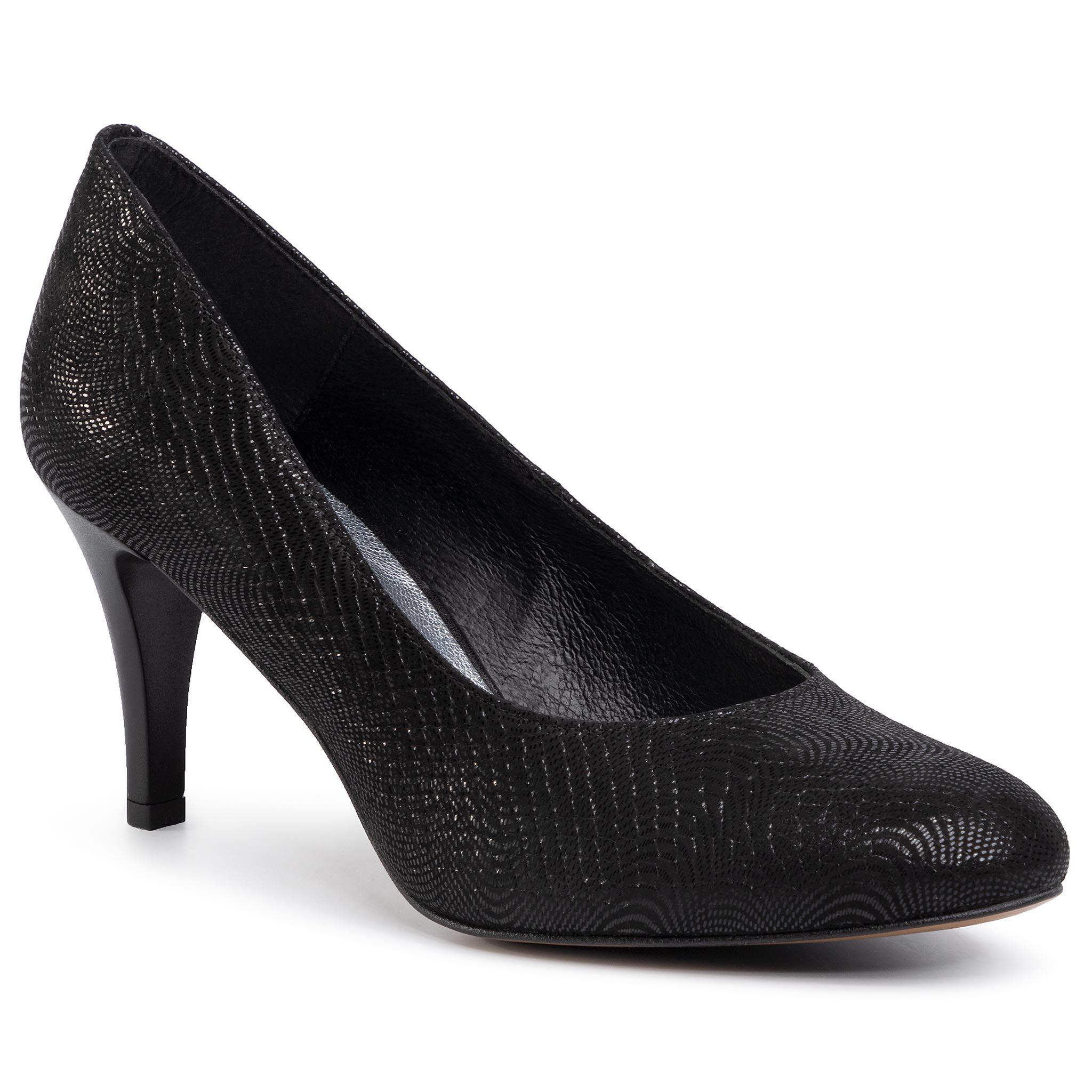 Magassarkú cipők Lasocki 70534 01 felsőbőr