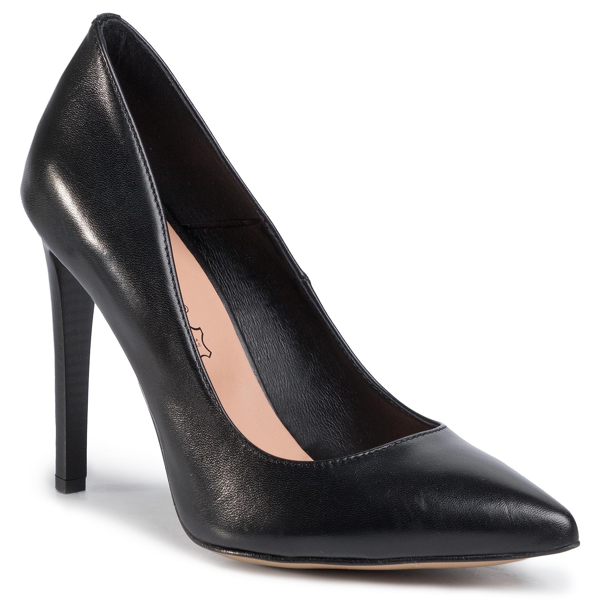 Tűsarkú LASOCKI - 70534-01 Black - Tűsarkú cipő - Félcipő - Női