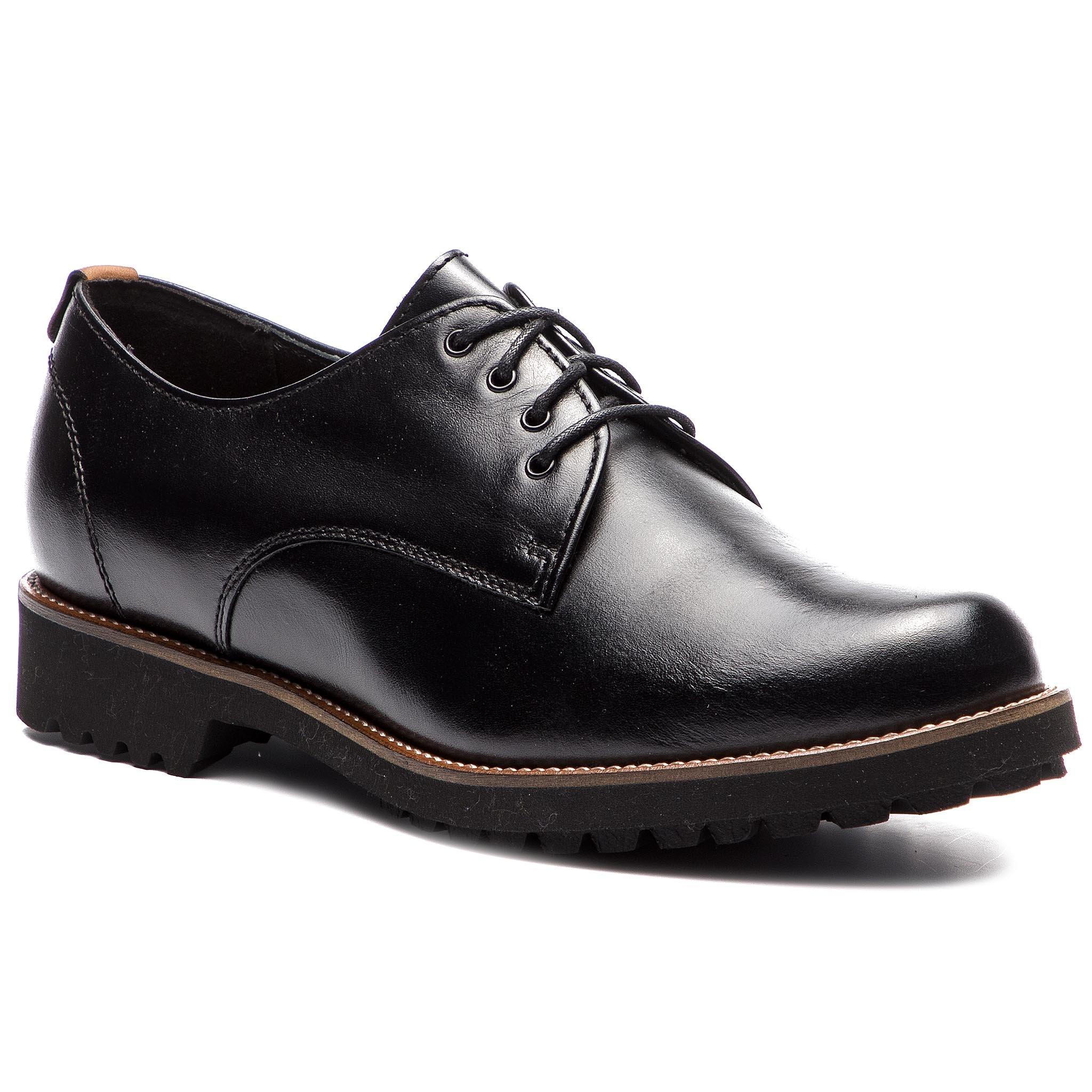Lasocki Fekete Hétköznapi Oxford cipők Női Félcipő