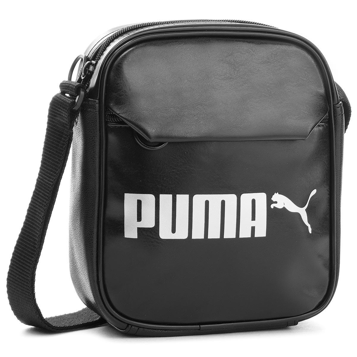 c65f5d0bee07a Torebka Puma 07500401 Campus Portable PU Czarny Torby - Torby damskie -  https://ccc.eu