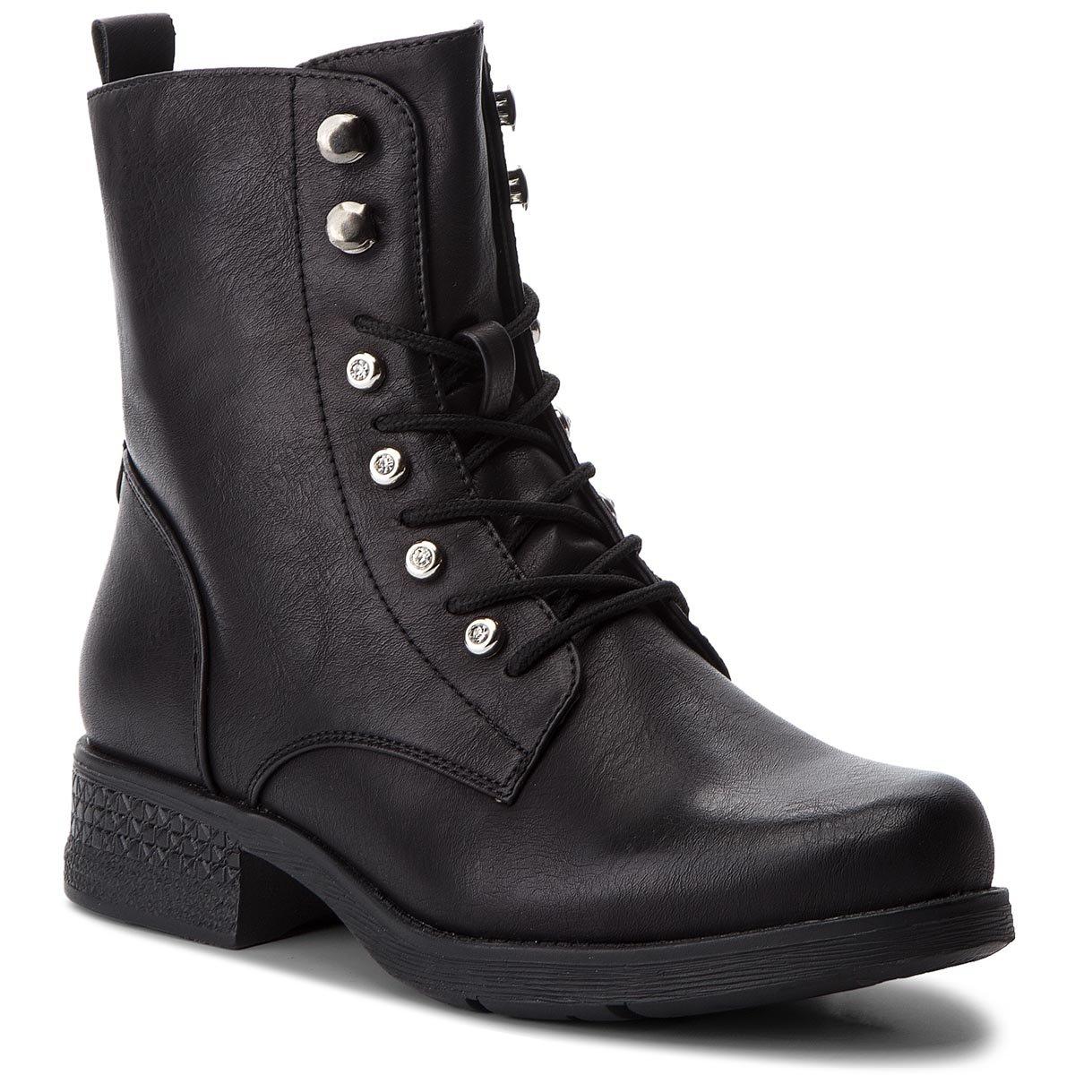d30a2658de6f6 vysoká šnurovacia topánka Jenny Fairy WS2726-04 čierna Dámske -  https://ccc.eu