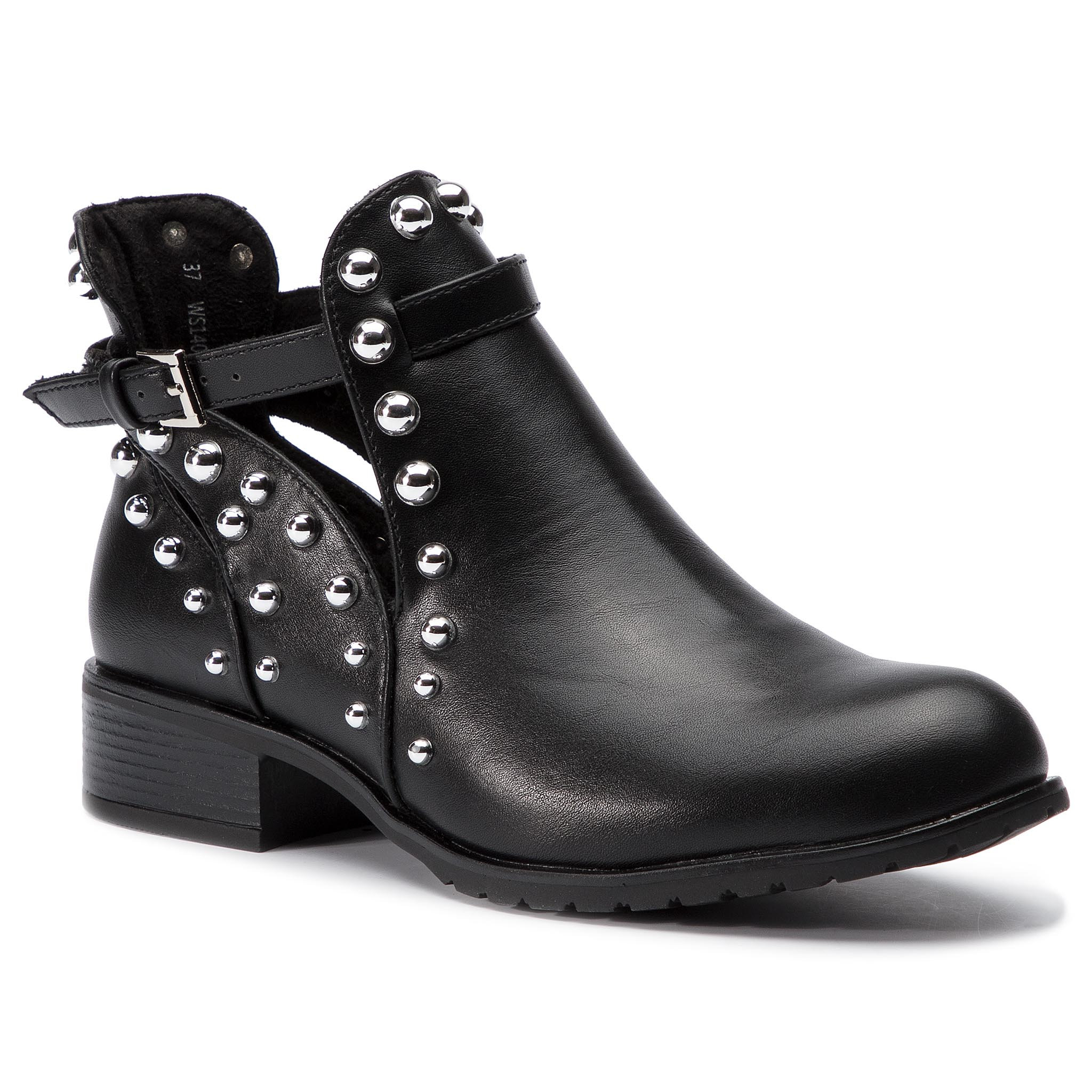 3e384c8d4137 členková topánka DeeZee WS14087-36 čierna Dámske - Topánky - Členková obuv  - https   ccc.eu