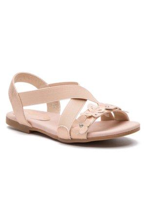 b7c9a585be11 sandále Nelli Blu CM170531-02 zlatá