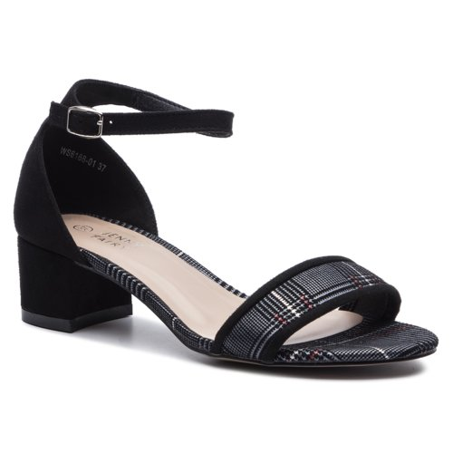 3725725f25 Szandál Jenny Fairy WS6166-01 Fekete Női - Cipők - Szandálok - https ...