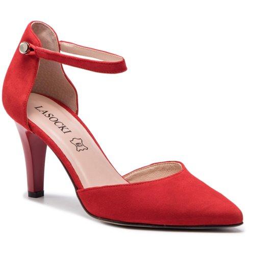 03c4177ea1 sandále Lasocki 2568-6 červená Dámske - Topánky - Sandále - https ...