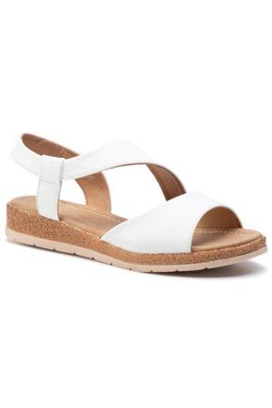 a24505c6a3 sandále Clara Barson WS2795-02 biela