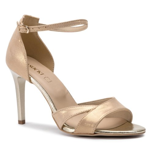 1852060e8b22 sandále Lasocki 0902-03 zlatá Dámske - Topánky - Sandále - https ...