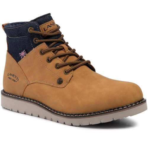 buy online 6f531 51304 Boot Lanetti MP07-17187-05 Camel