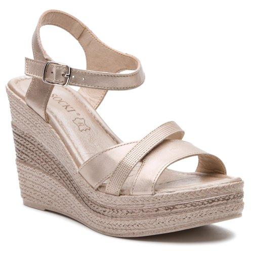 0a7909d49c sandále Lasocki 0673-04 platinová Dámske - Topánky - Sandále - https ...