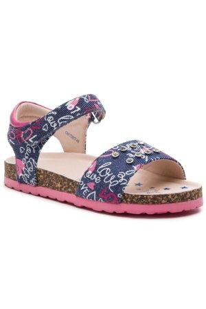 c9a752bcfae6 sandále Nelli Blu CM170817-48 blankytne modrá