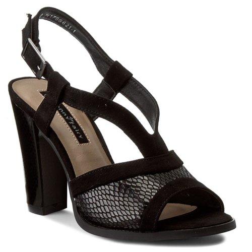 58853f0314f8 sandále Jenny Fairy W17SS621-1 čierna Dámske - Topánky - Sandále ...