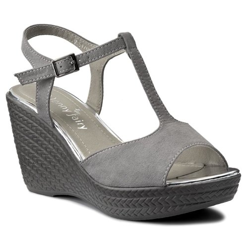 6a65e4a44d90 sandále Jenny Fairy WS17050 svetlo šedá Dámske - Topánky - Sandále ...