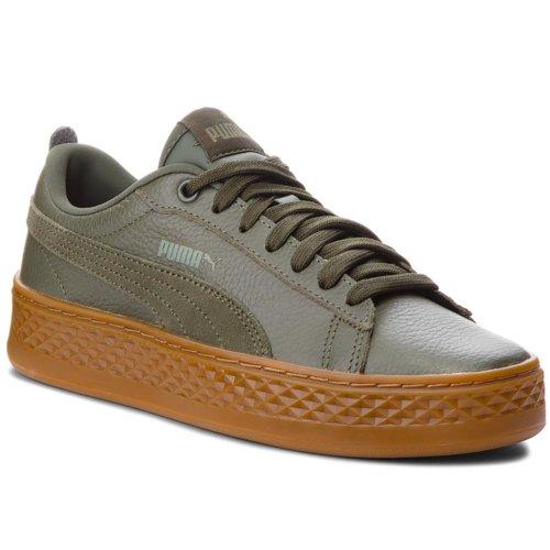 e1a1b98d5 Rekreačná obuv Puma 36648705 Smash Platform L tmavo zelená - 4059506191961