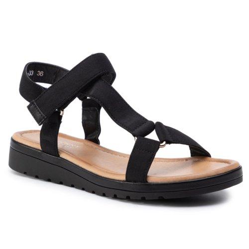 kedvezményes üzlet gyári üzletek új termék Szandál Jenny Fairy WS2786-03 FEKETE Női - Cipők - Szandálok ...