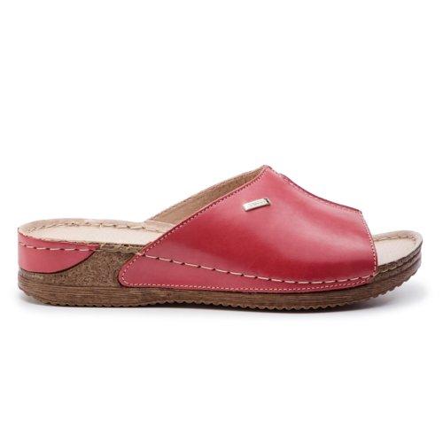 62414cbc9 papuče Lasocki 2128-07 červená Dámske - Topánky - Šľapky - https ...