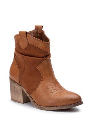 005dbc682624f členková topánka DeeZee WS1820A-03 Camel