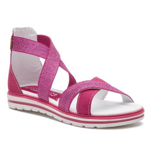10d0214c6eb2 sandále Lasocki Young CI12-2961-20 tmavo ružová Detské - Dievčenské ...