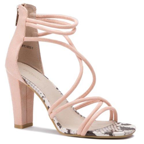 5a8c06c49932 sandále DeeZee WYL1833-1 svetlo ružová Dámske - Topánky - Sandále ...