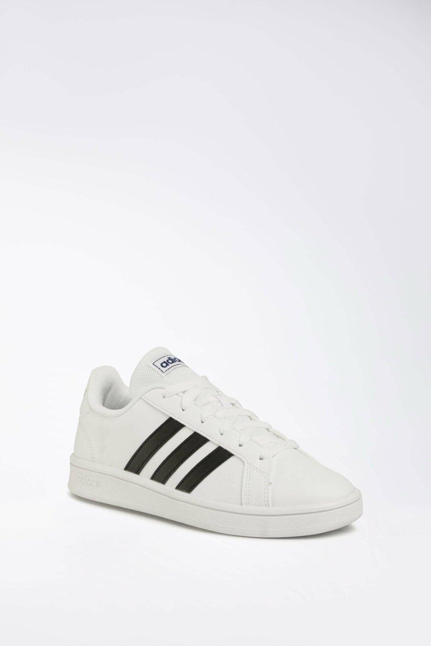 Obuwie Sportowe Adidas Grand Court Base Ee7904 Bialy Ccc Eu