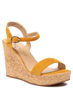 cd4a6edce sandále Lasocki 2190-01 žltá