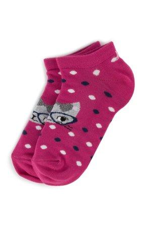 5a70d98781 Gyerek zoknik Nelli Blu SKARPETY DZIECIĘCE 16A5U210 Sötét rózsaszín