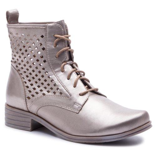 1c6a773e5e vysoká šnurovacia topánka Lasocki ARC-STEFANIA-07 zlatá - 2220984620140