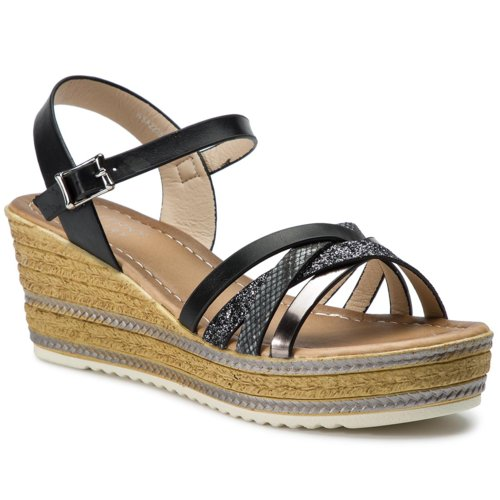 5766645212 Szandál Jenny Fairy WSA2223-01 Fekete Női - Cipők - Szandálok ...