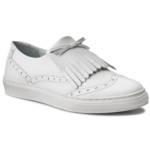 Félcipő Lasocki WI12 MILLY 01 FEHÉR Női Cipők Félcipők