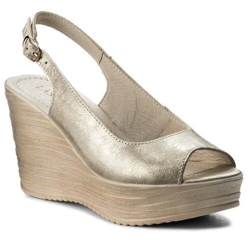 5f27c5f089 sandále Lasocki 2121-01 zlatá Dámske - Topánky - Sandále - https ...