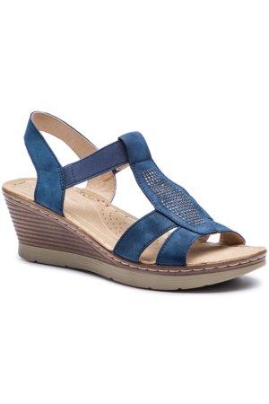 12cff44236 sandále Clara Barson WS9675-02 tmavomodrá