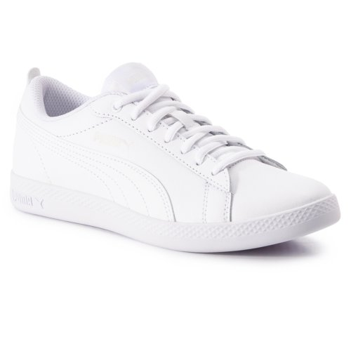 Sportschuhe Puma 36520804 Smash Wns v2 L Weiß