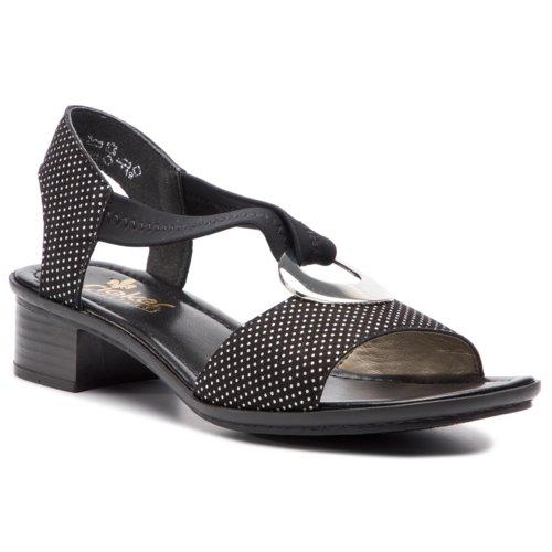 4c35832d668f sandále Rieker 62662-02 čierna Dámske - Topánky - Sandále - https ...