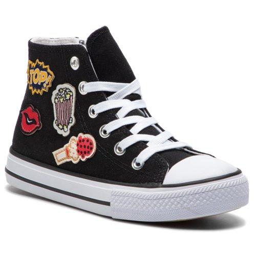 e53314bee6d7 Rekreačná obuv Nelli Blu C1886037S-3 čierna Detské - Dievčenské ...