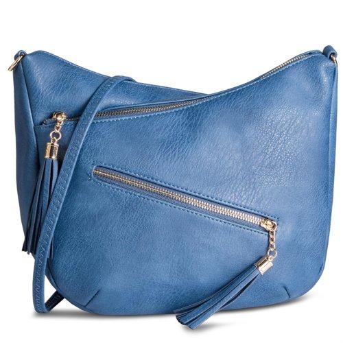 270c70e88b ... Dámské kabelky —  JENNY FAIRY RC13047. Kabelka Jenny Fairy RC13047 blankytně  modrá - 2221057460038