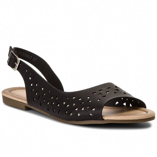 1f9b433e22ff sandále Bassano WS3268-2 čierna Dámske - Topánky - Sandále - https ...