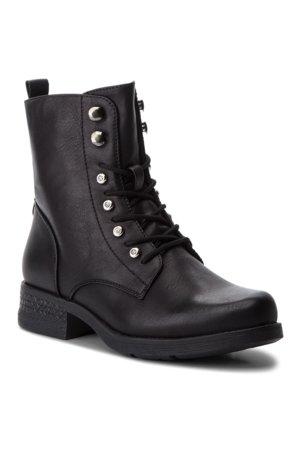 šněrovací bota vysoká Jenny Fairy WS2726-04 černá db1ffd3f38