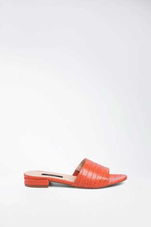 Pantolette Gino Rossi A45454 DUNKELORANGE