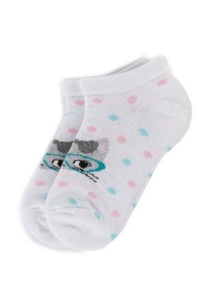 5c51a63c3c Gyerek zoknik Nelli Blu SKARPETY DZIECIĘCE 16A5U000 Fehér
