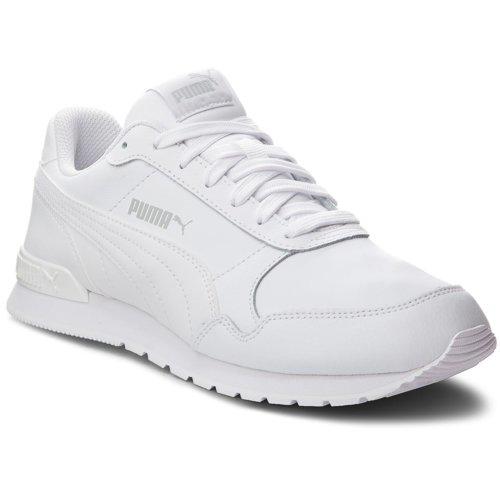 4d9b212ac453a Rekreačná obuv Puma 36695902 ST Runner v2 L Jr biela - 4059506298264
