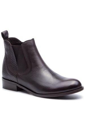 feab5b074 kotníčková bota Lasocki 4768-02 tmavě hnědá