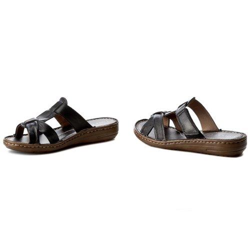 c59d16528 papuče Lasocki W120 čierna Dámske - Topánky - Šľapky - https://ccc.eu