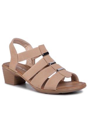 Félcipő CLARA BARSON W16SS078 11 Fehér   Cipők