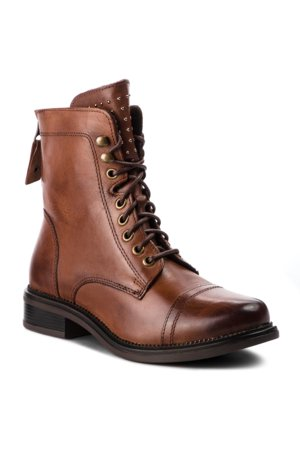 šněrovací bota vysoká Lasocki RST-TULIA-09 hnědá 88b5d96fd56