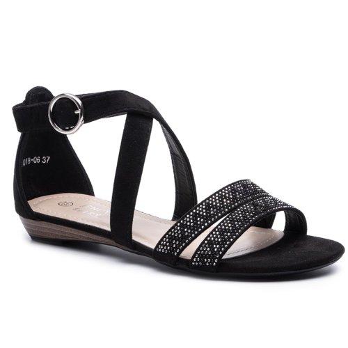 a97df8fc75d9 Szandál Jenny Fairy WS1018-06 Fekete Női - Cipők - Szandálok - https ...