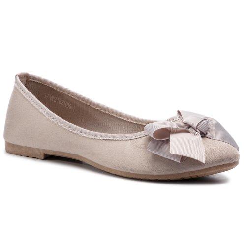 f796cc29a366c balerínky Jenny Fairy WS16ZH05-1 šedá Dámske - Topánky - Balerínky ...