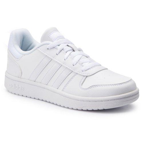 e8a8d2912 Rekreačná obuv Adidas F35891 HOOPS 2.0 K biela Detské - Dievčenské ...