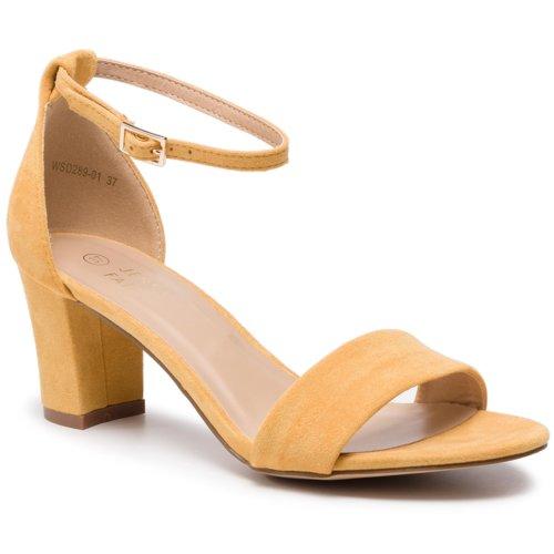 0d06a1540fef sandále Jenny Fairy WSD289-01 žltá Dámske - Topánky - Sandále ...