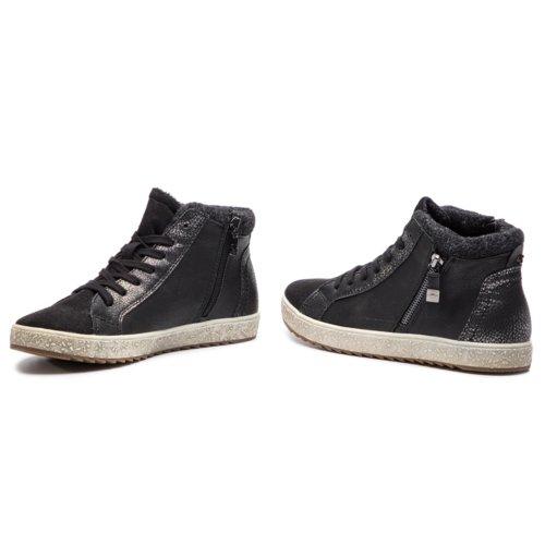 9a3ff36b91c4c Rekreačná obuv Tom Tailor 3790505 čierna Dámske - Topánky - Plátenky ...