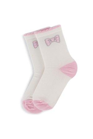 8ebed3a520ac Detské ponožky Nelli Blu SKARPETY DZIECIĘCE 138U6001 biela
