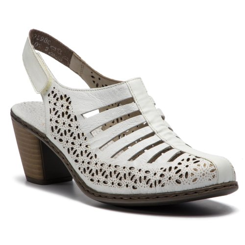 2f205819d380 sandále Rieker 40959-80 biela Dámske - Topánky - Sandále - https ...
